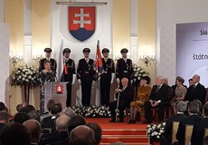The forwarding of state decorations on the occasion of the 27th anniversary of the establishment of the Slovak Republic.